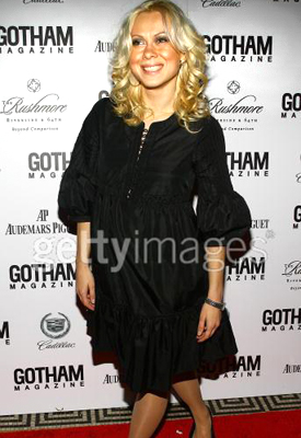 1.30.07 Oksana Baiul attends the Seventh Annual Gotham Magazine's Gala in New York City.