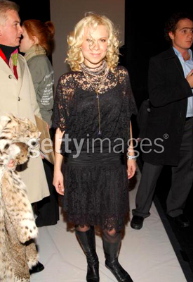 2.9.07 Oksana Baiul attends  the Chado by Raplph Rucci Fall 2007 fashon show