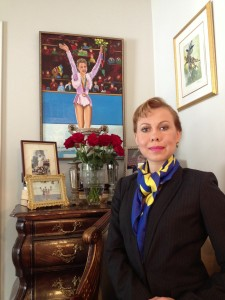 OKSANA BAIUL UKR Interview 030414